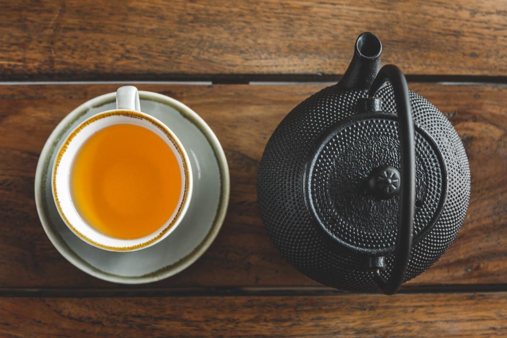 Cha Lounge: Image of tea pot and delicious tea
