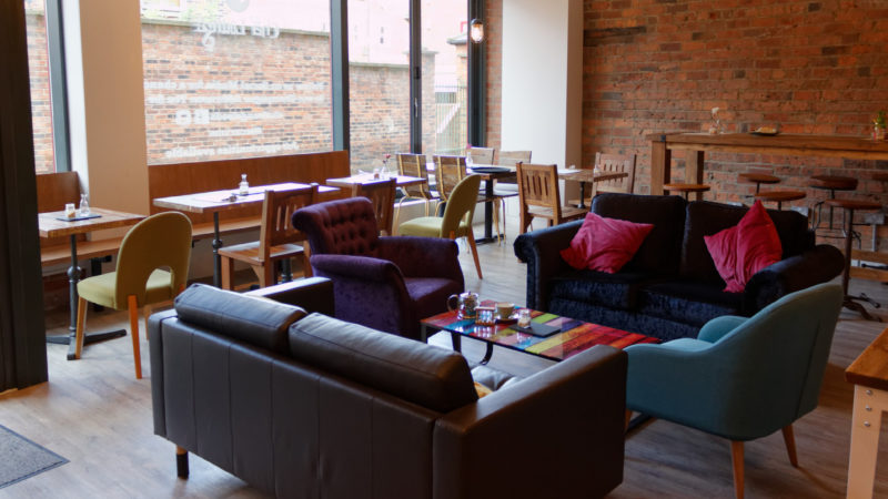 Cha Lounge interior
