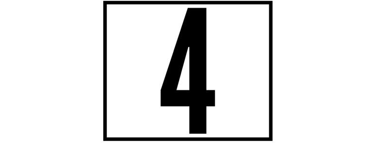 '4' header