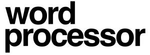 Word Processor article