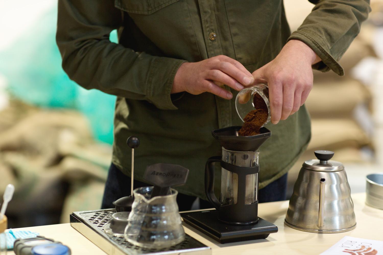 Making Coffee North Star