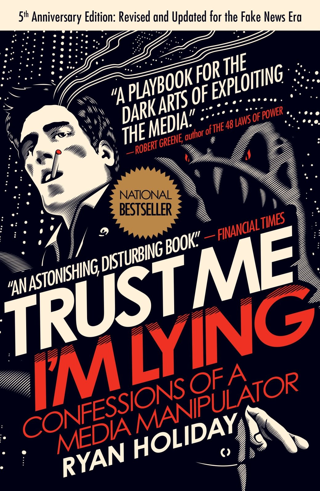 Trust Me, I'm Lying Book Cover Image