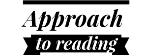 Header - Approach to reading